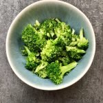 Quickie Steamed Broccoli