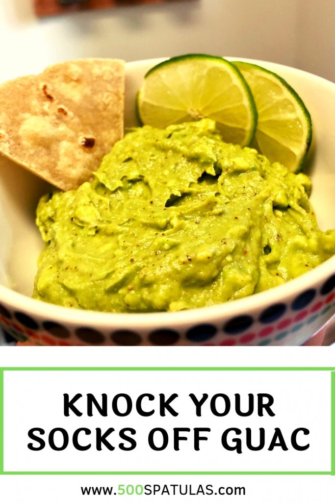 Knock Your Socks Off Guac