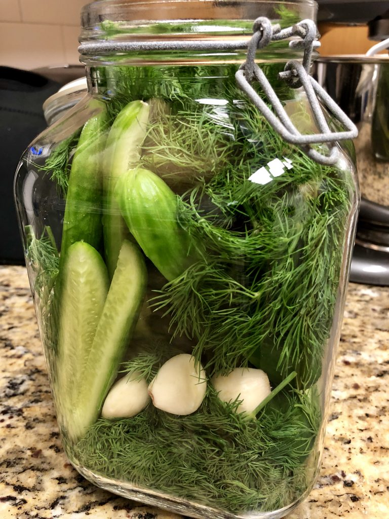 Refrigerator Garlic Pickles