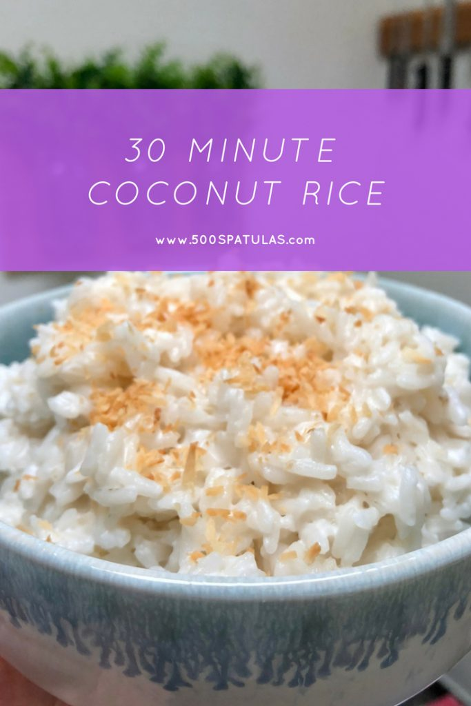 30 Minute Coconut Rice