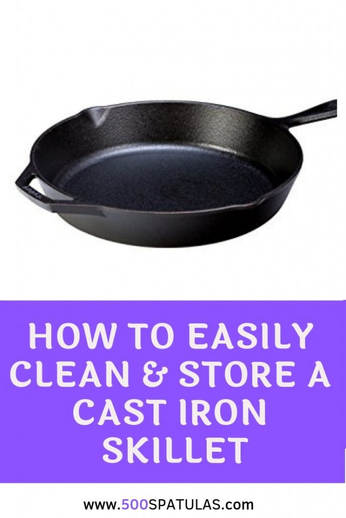 How to Easily Clean & Store a Cast Iron Skillet