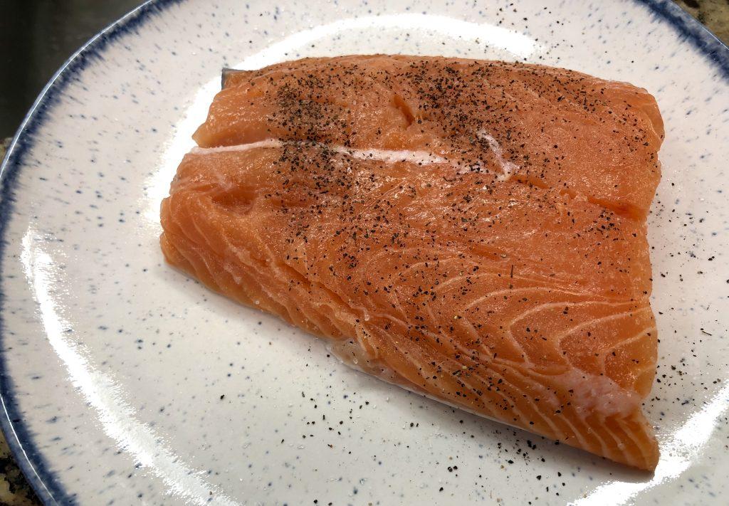 Non-fishy Salmon