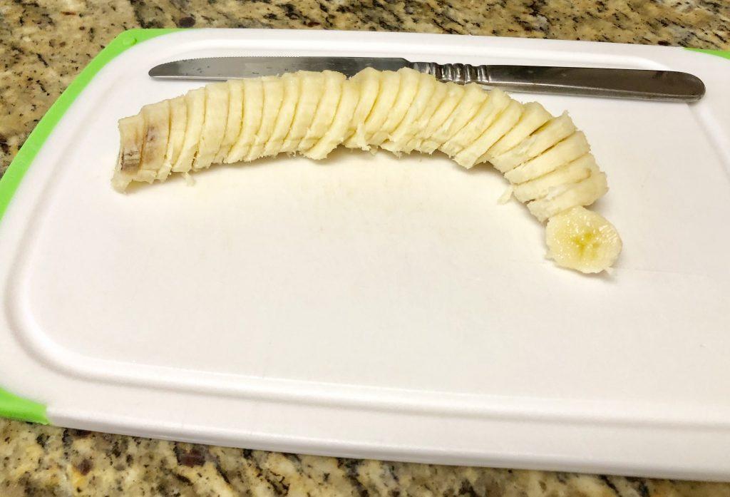 Baked Banana Bites