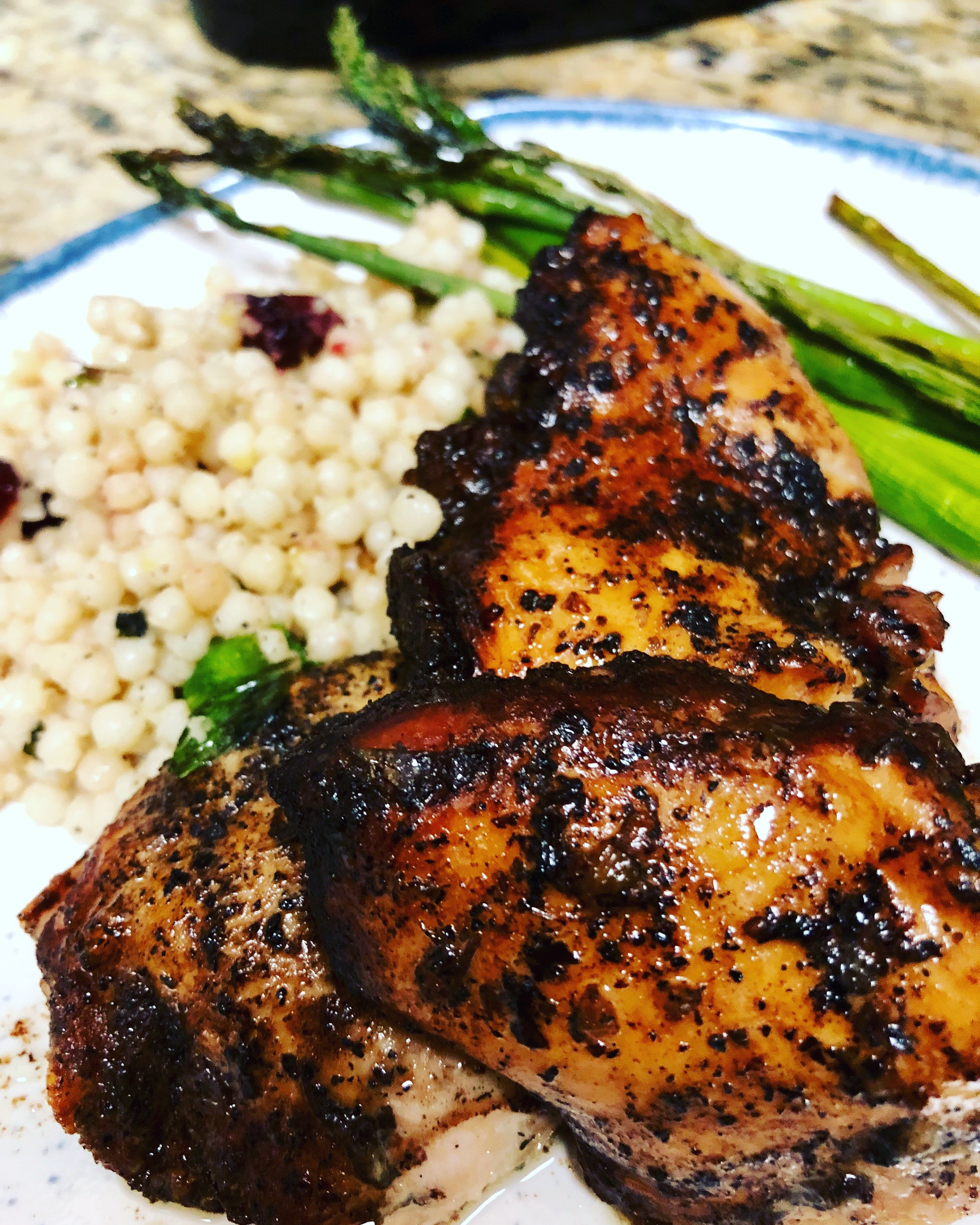 Slow Cooker Balsamic Chicken Thighs