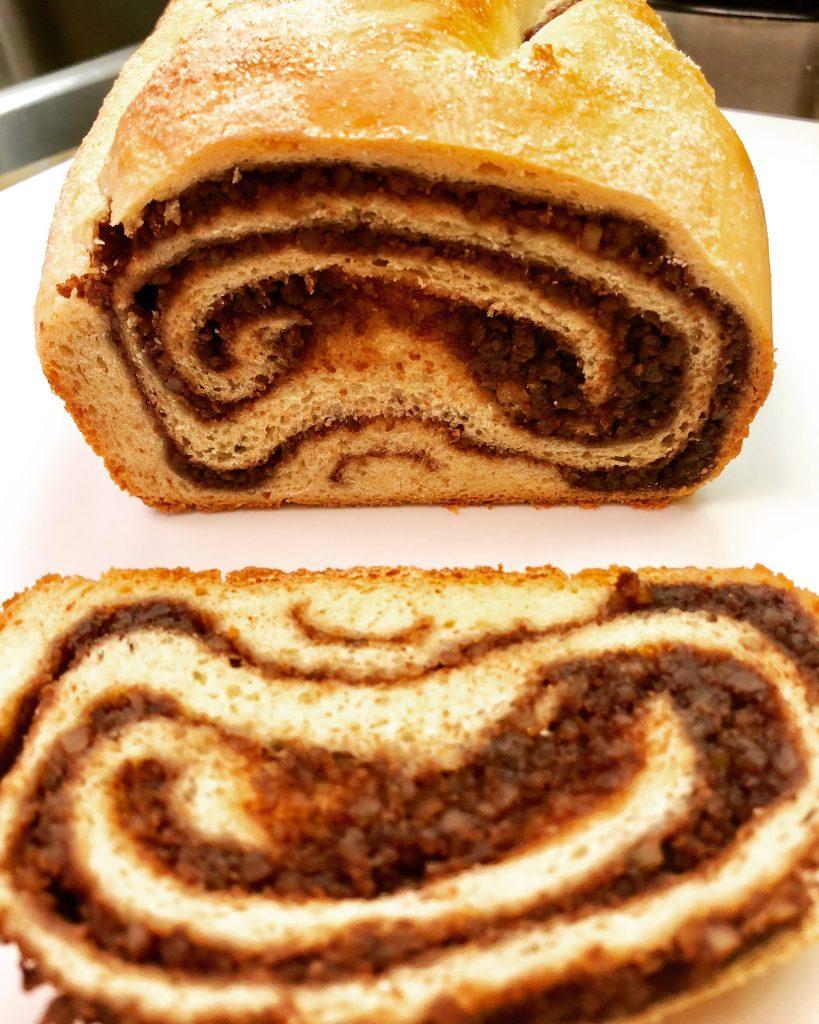 Chocolate Walnut Povitica