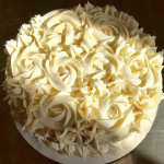 Buttercream Rose Cake