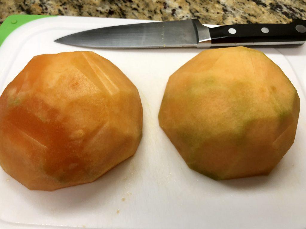 Melon Basil Sorbet