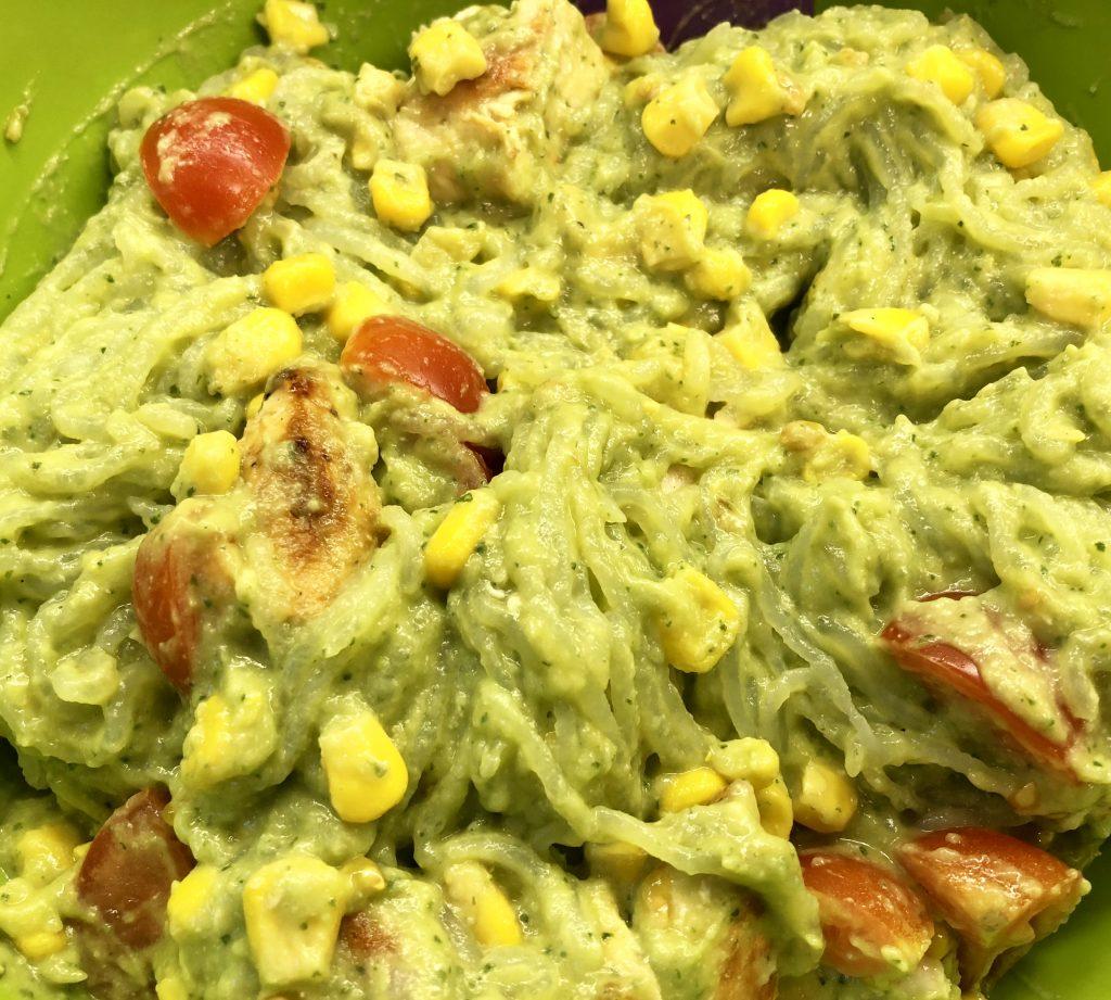 Chicken Avocado Pasta Salad