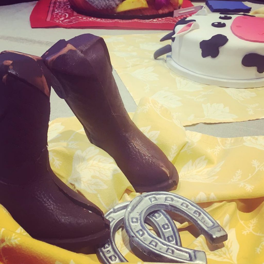Chocolate Boots & Horseshoes