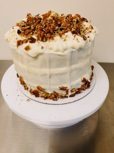Carrot Cake Drip Cake with Cream Cheese Frosting