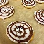 Spooky Black & White Cookies