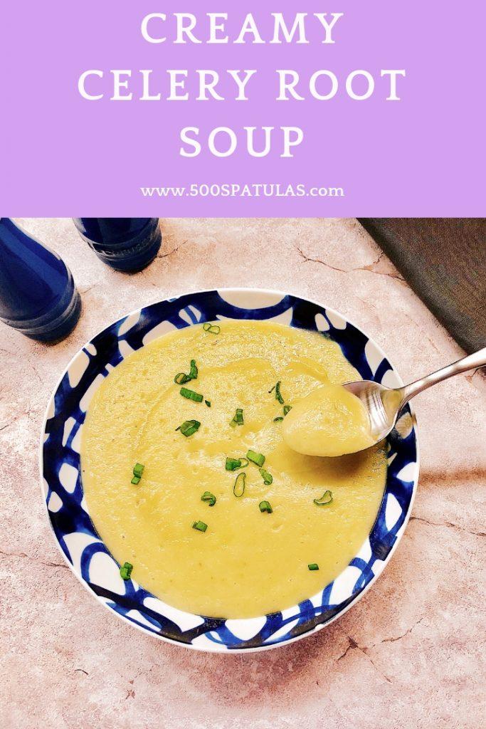 Creamy Celery Root Soup