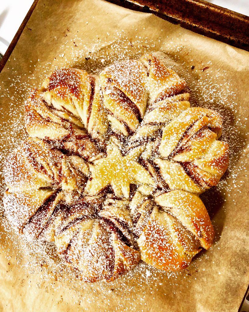 Raspberry Star Bread
