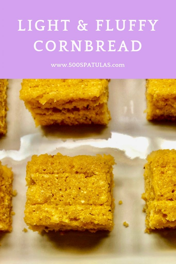 Light and Fluffy Cornbread