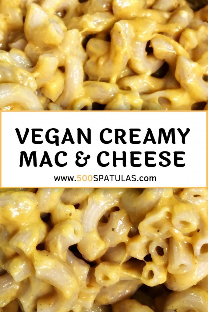 Vegan Creamy Mac & Cheese