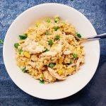 Shortcut Chicken Fried Rice