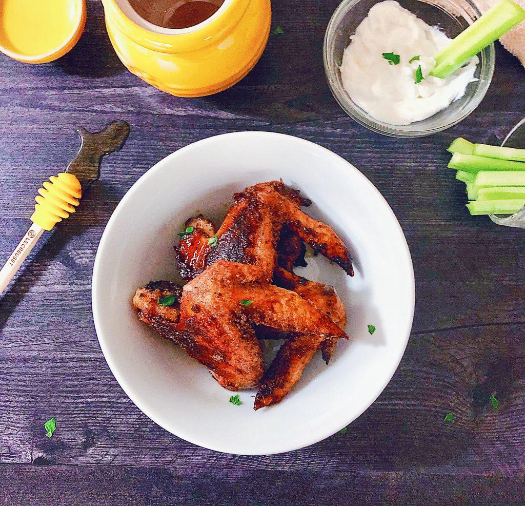 Baked Honey Garlic Wings