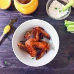 Baked Honey Garlic Wings