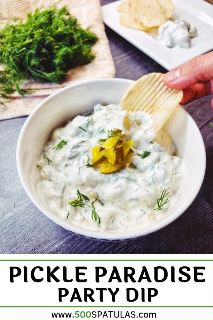 Dill Pickle Party Dip