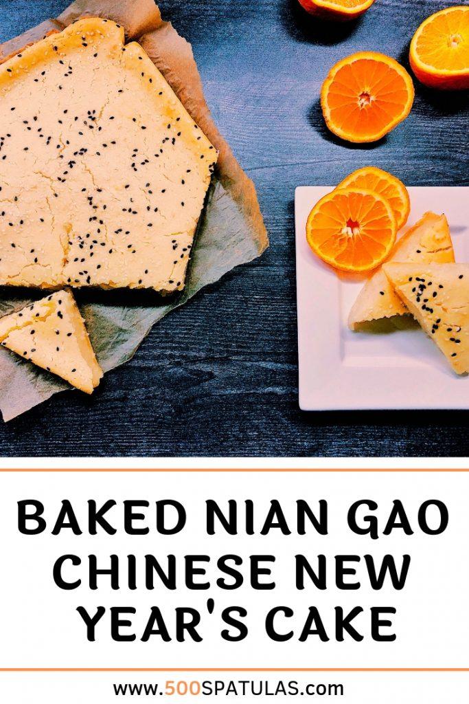 Baked Nian Gao