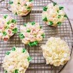Spring Bouquet Lemon Cupcakes