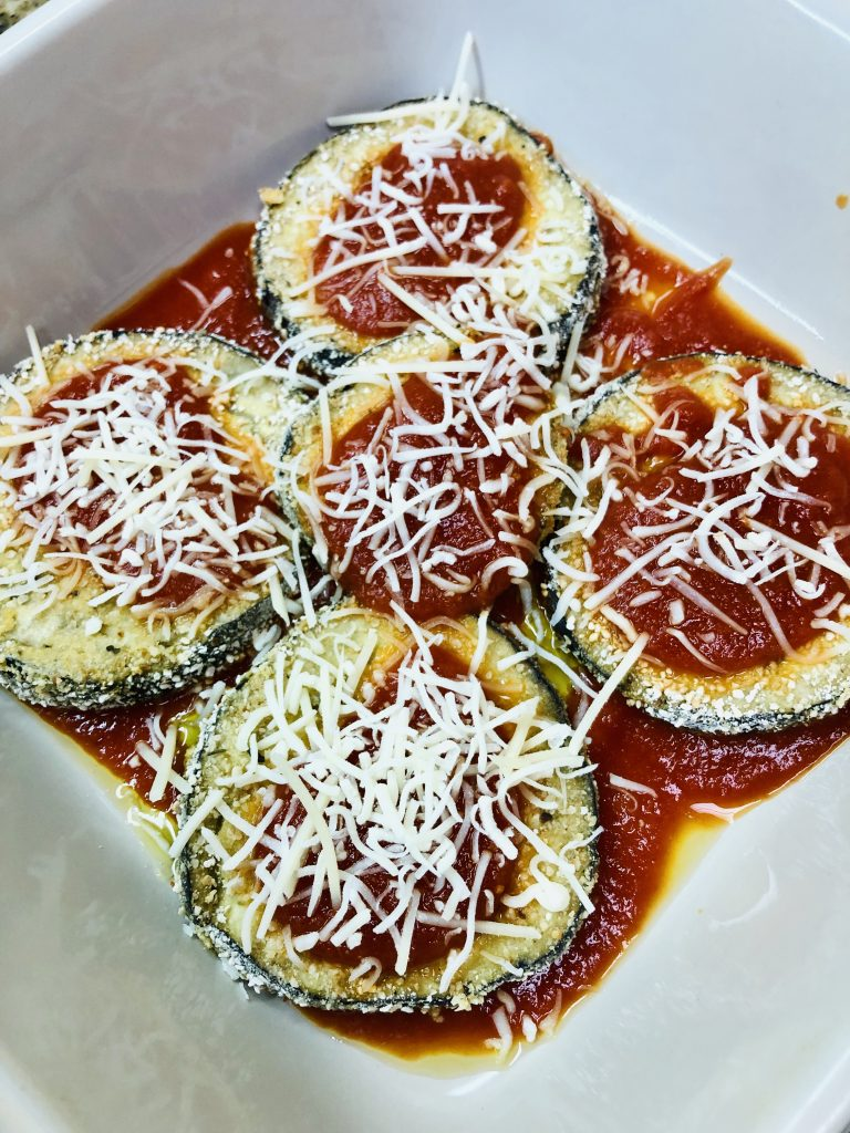 Passover Baked Eggplant Lasagna