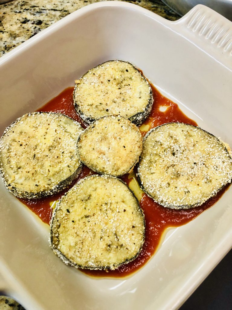 Passover Baked Eggplant Lasagna