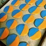 Knicks Themed Black & White Cookies