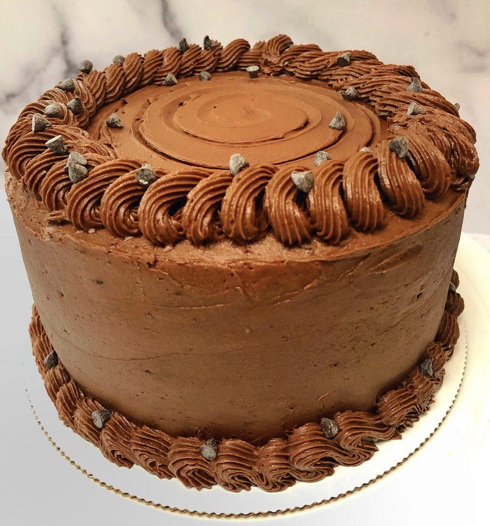 Chocolate Rope Cake