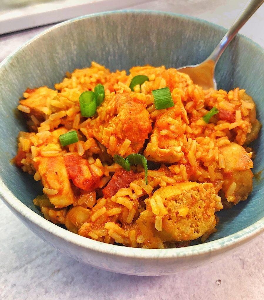 Seafood-Less Jambalaya
