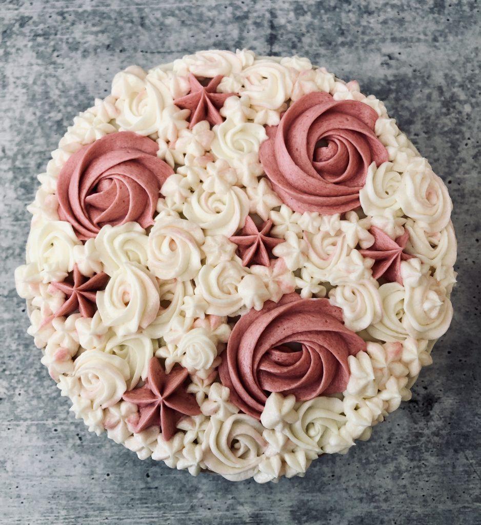 Buttercream Semi Naked Cake