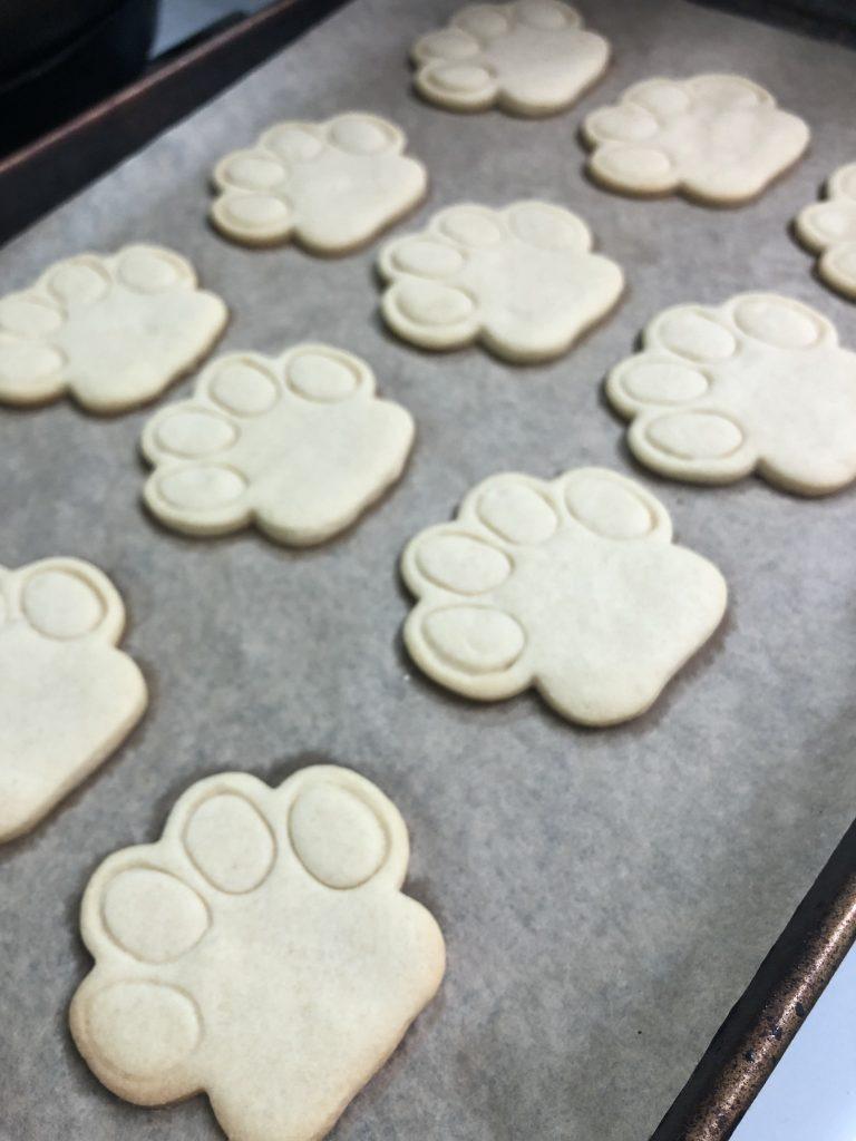 Sugar Cookies Paws