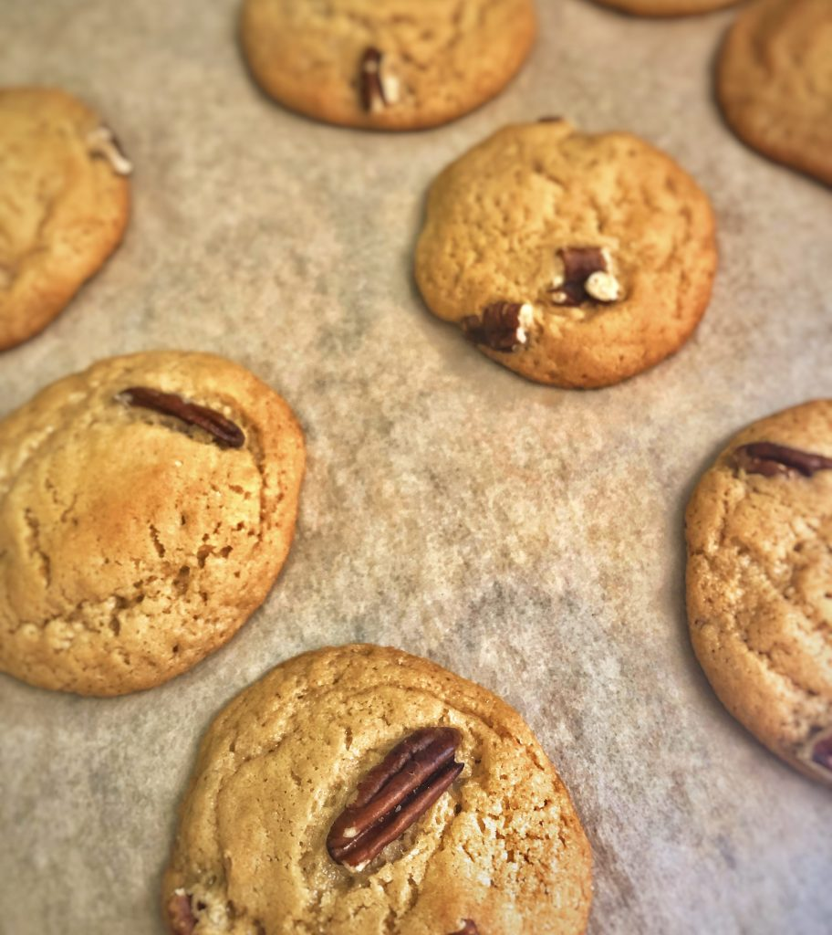 Maple Pecan Brown Sugar Cookies