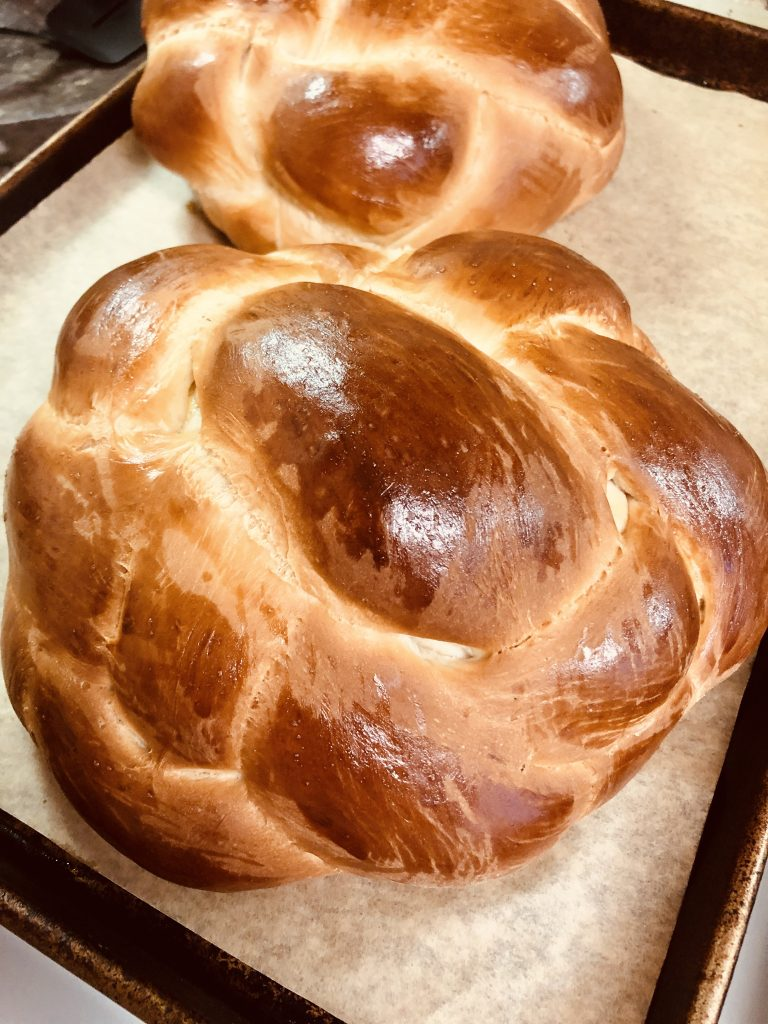 Round Holiday Challah