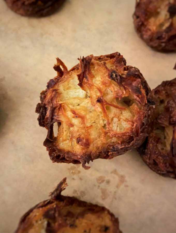 Oven-Fried Latke Cups