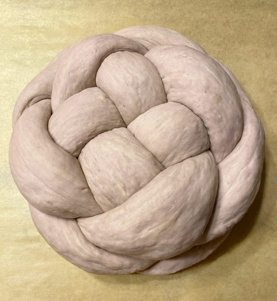 Sugared Ube Bread