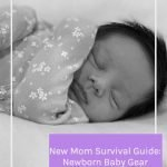 The New Mom Survival Guide: Newborn Baby Gear has everything you need for the early days of having a new baby! #500spatulas #newbaby